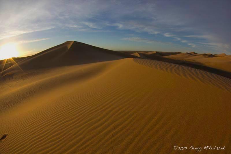 """Sanddünen """"Els"""" in der Wüste Gobi"""