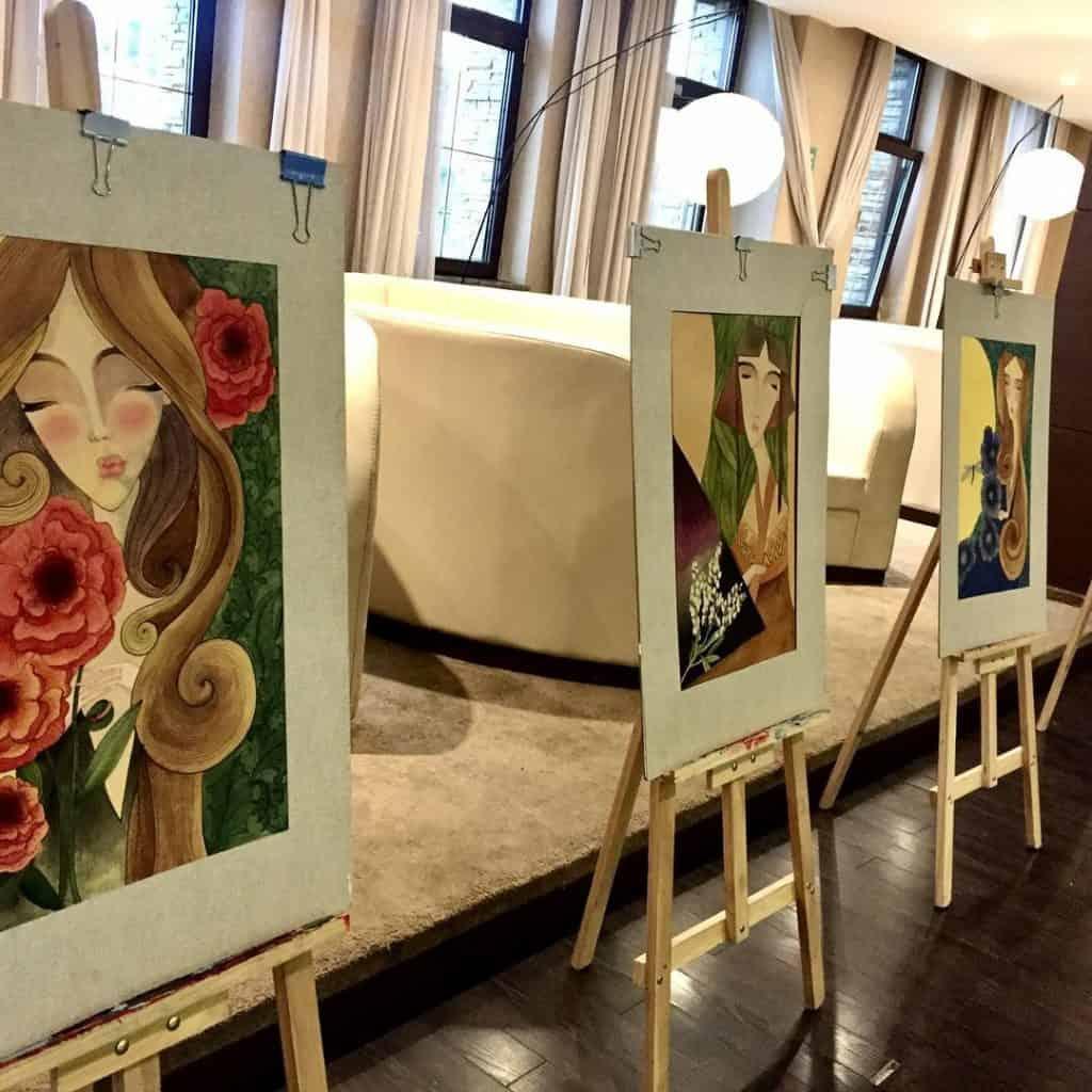 Michid - eine mongolische Künstlerin