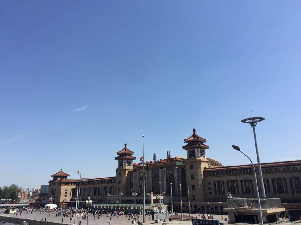 Beijing Station Pekinger Bahnhof
