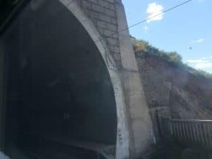 Tunnel der Transmongolischen Eisenbahn