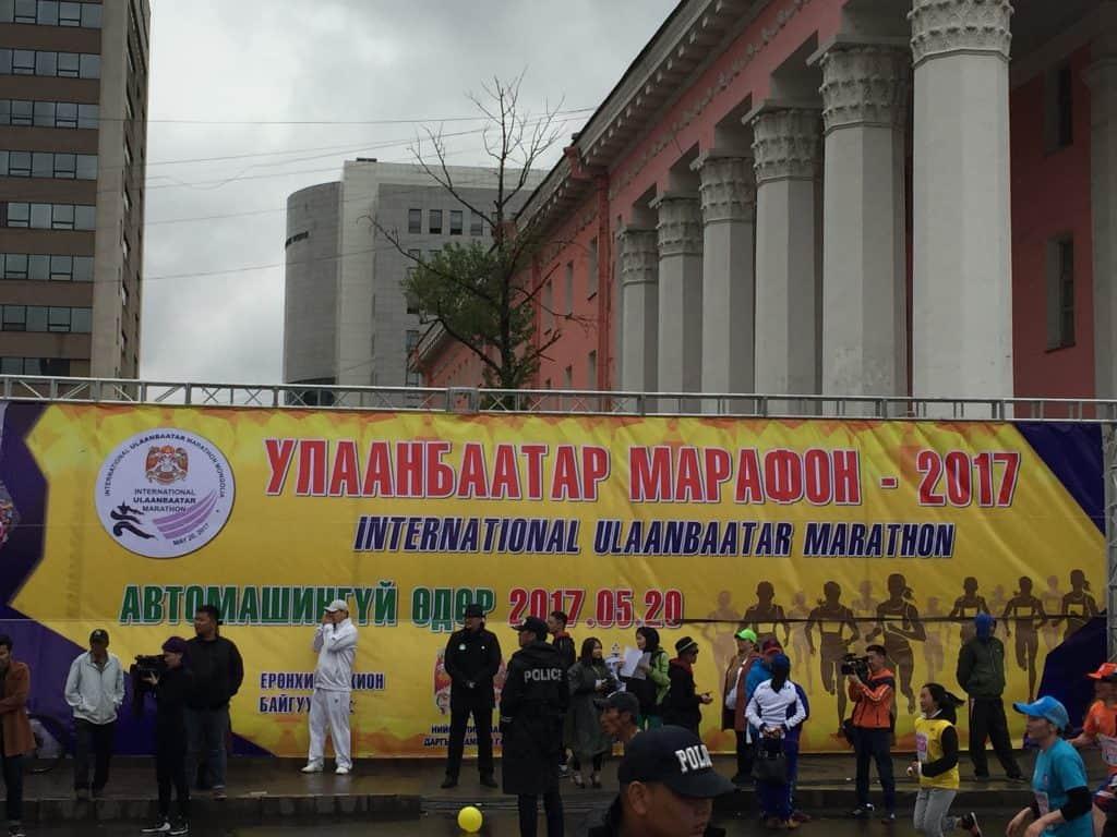 Marathon in Ulan Bator