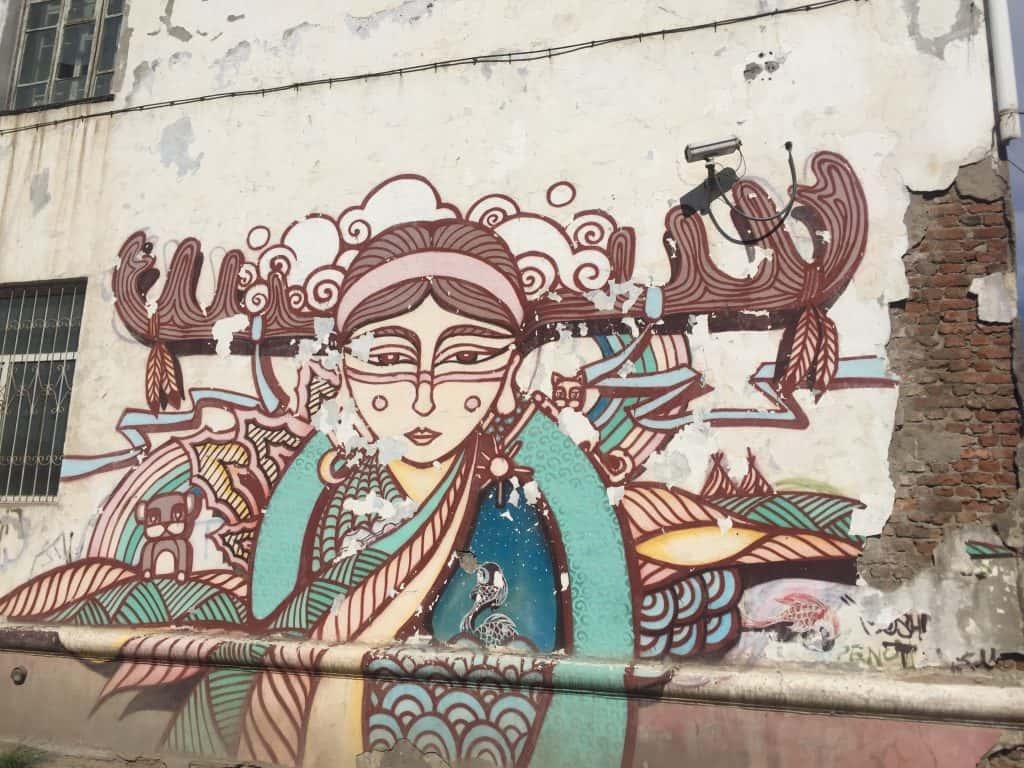 Mongolische Kunst