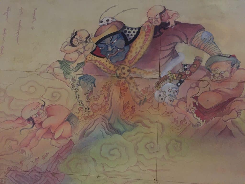 Mural beim Kinderpark