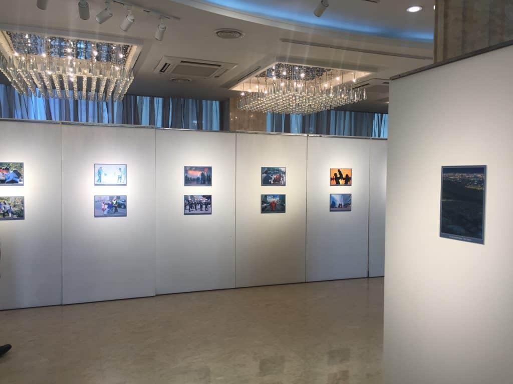 Fotoausstellung im Bluemon Center Ulaanbaatar