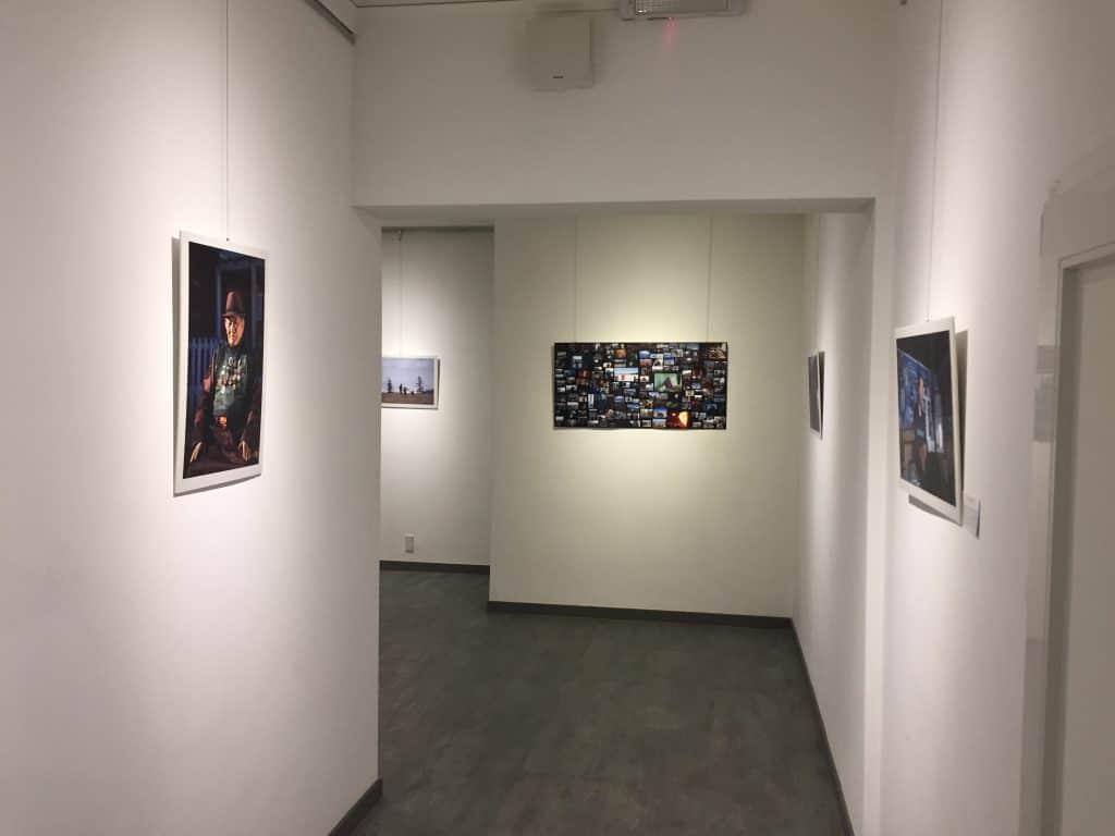 Fotoausstellung in Zaisan - Mongolen