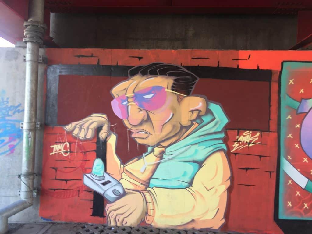 Graffiti in Ulaanbaatar 3