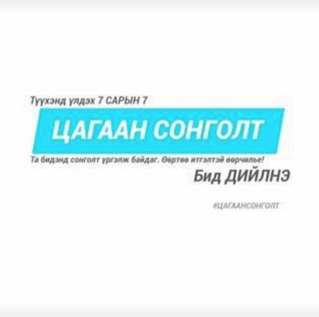 mongolische Präsidentschaftswahl 2017: Weiße Wahl - eine Facebookkampagne