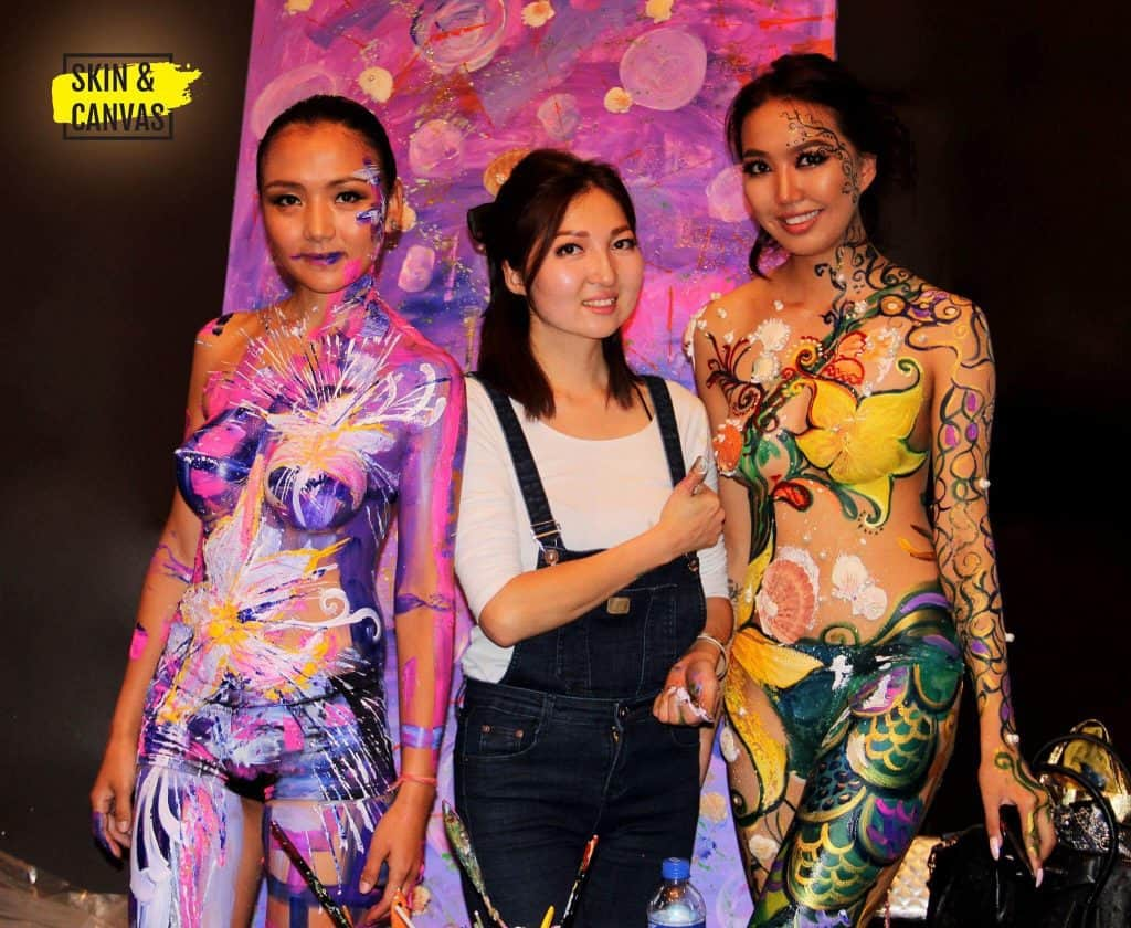 Bodypainting bei Skin & Canvas