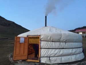 Mongolische Jurte - Ger genannt