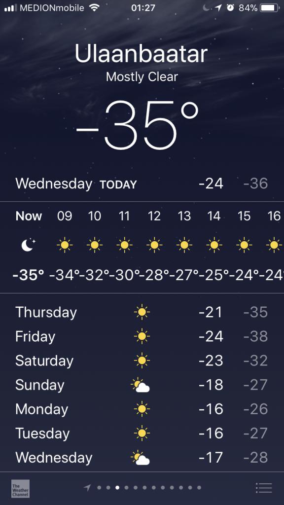Sicherheit in der Mongolei: Die Gefahr durch Kälte