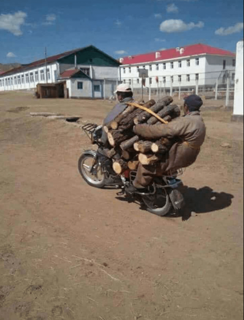 Wer ein Moped hat, braucht kein LKW mehr