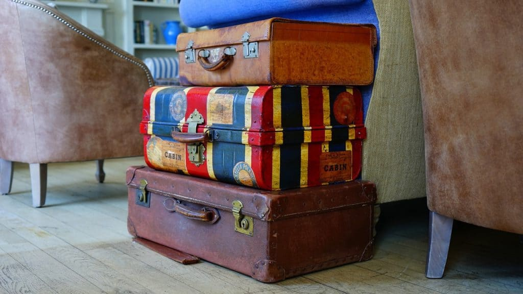 Packliste Mongolei Koffer