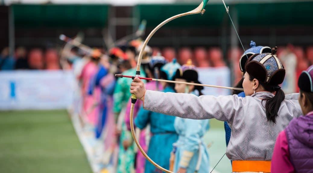 Bogenschießen - ein Sport bei dem viele Frauen mitmachen