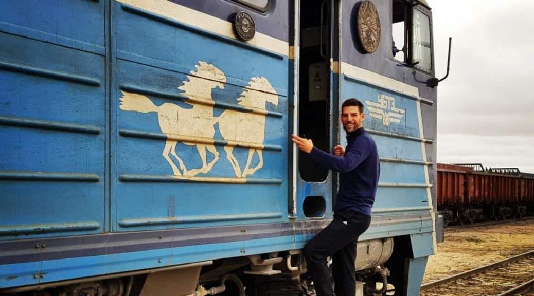 Zug von Ulan Bator nach Peking