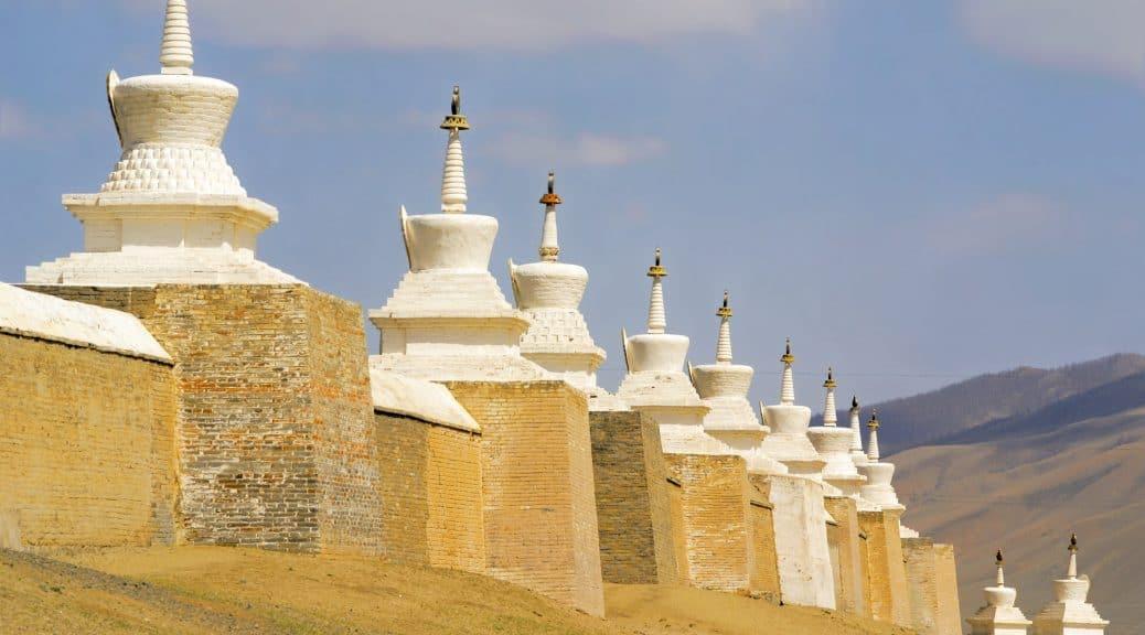 beliebtes Fotomotiv das Erdene Zuu Kloster